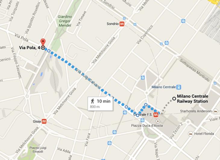 mapCentralePola